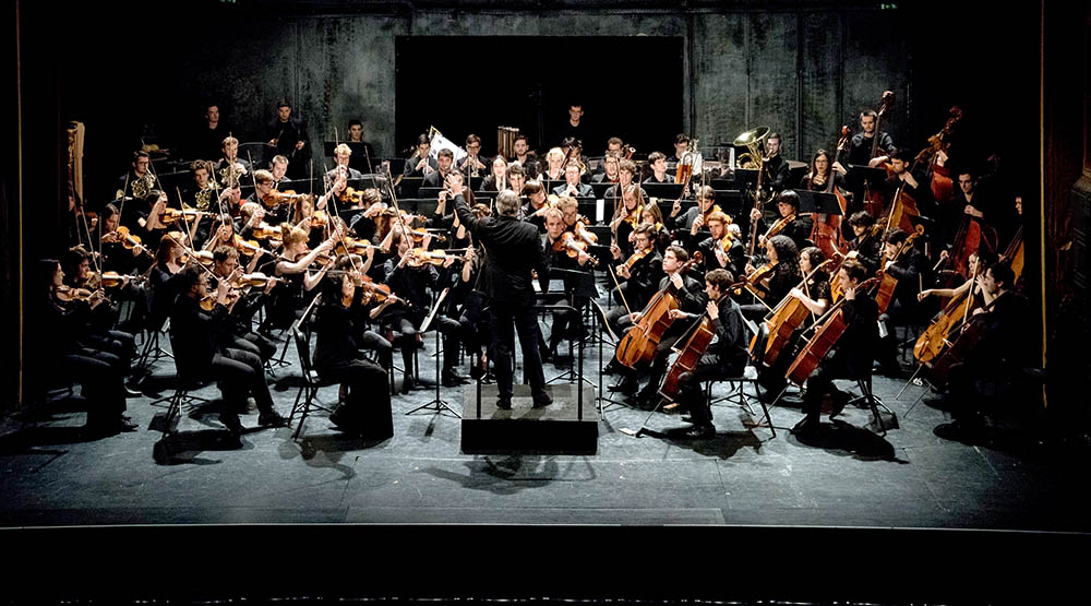 Photo de l'Orchestre du Conservatoire de Paris